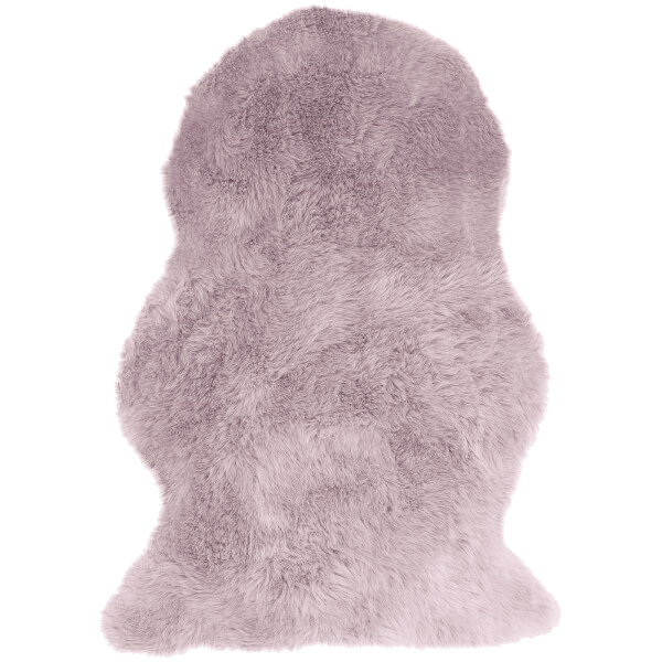 Asiatic London Auckland Faux Sheepskin Rug - Pink