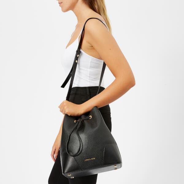 MICHAEL MICHAEL KORS Women s Cary Medium Bucket Bag - Black  Image 3 33a9fe033