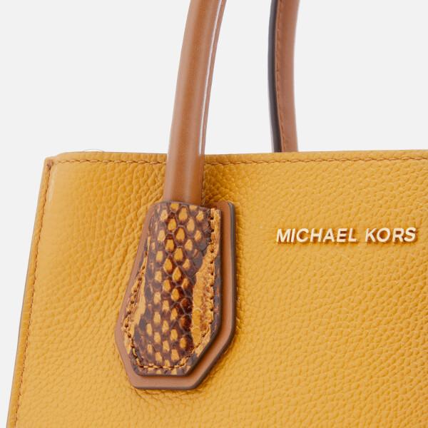 64591e1ed0c8f4 MICHAEL MICHAEL KORS Women's Mercer Medium Messenger Bag - Marigold: Image 4