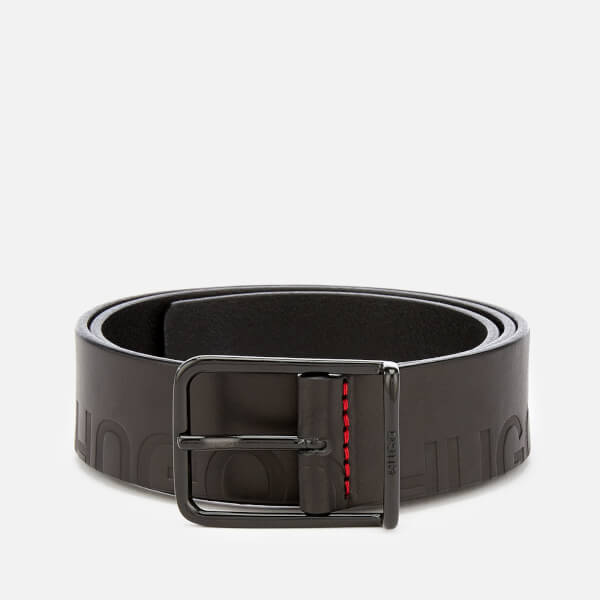 HUGO Men's Gal-L Belt - Black