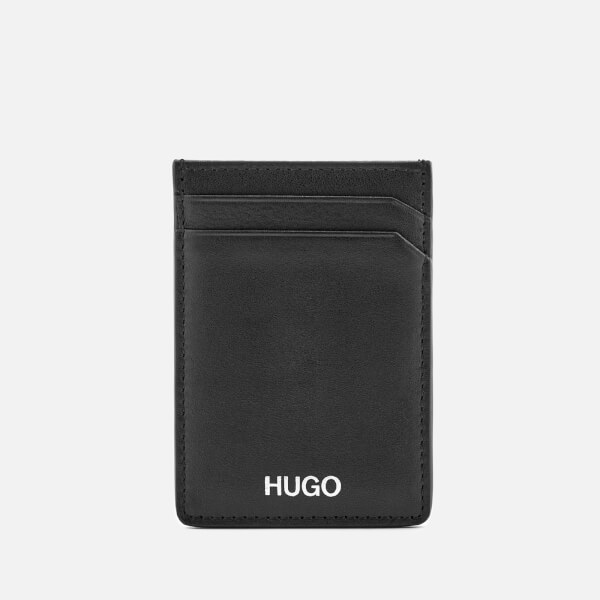 HUGO Men's Clip Card Case - Black