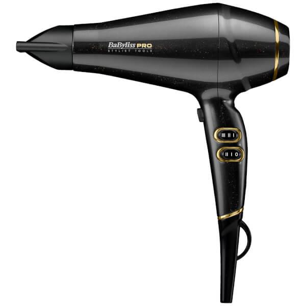 BaByliss PRO Keratin Lustre Hair Dryer - Black Shimmer