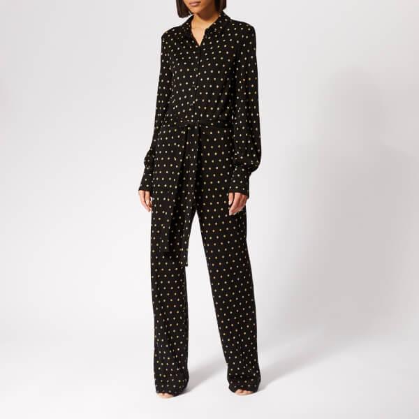 Stine Goya Women's Lana Jumpsuit - Dots Black