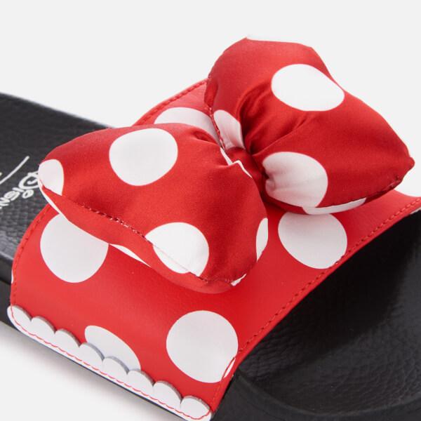 160e32297b9e Vans Women s Disney Minnie s Bow Slide Sandals - True White  Image 2