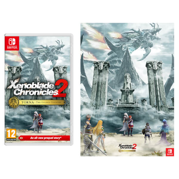 Xenoblade Chronicles 2: Torna - The Golden Country + Art Print