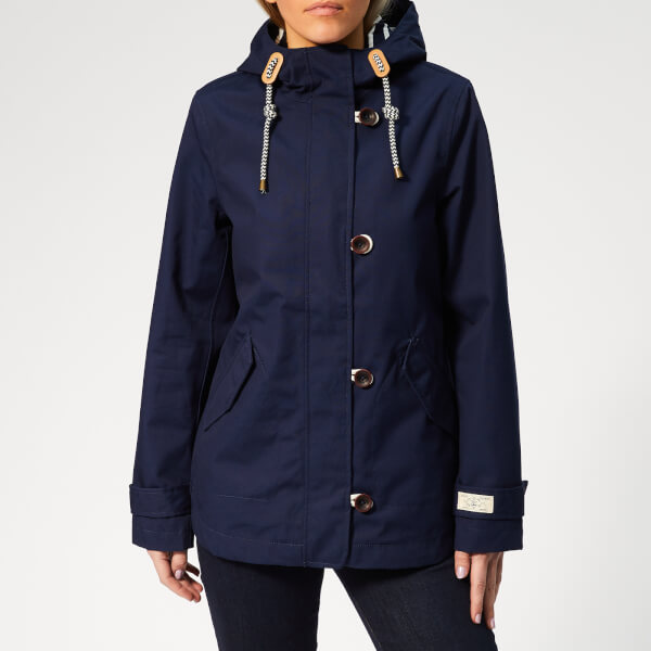 Joules Women's Coast Waterproof Jacket - French Navy