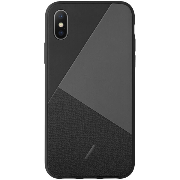 Native Union Clic Marquetry iPhone Xs Max Case - Black