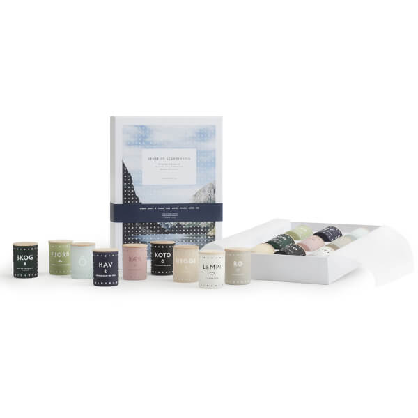 SKANDINAVISK Sense of Scandinavia Scented Mini Candle Gift Set (Set of 9)