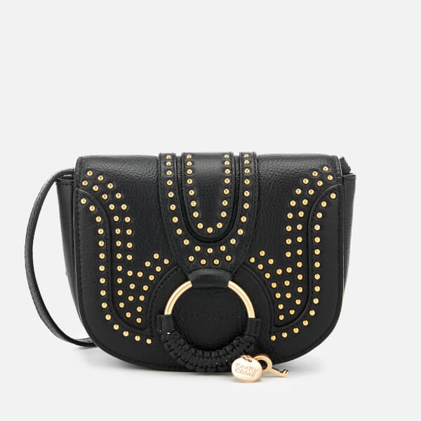See By Chloé Women's Hana Studded Cross Body Bag - Black
