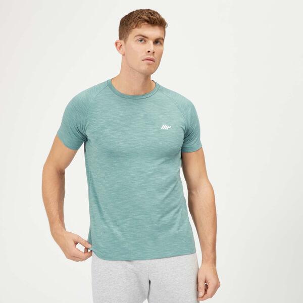 Myprotein Performance T-Shirt - Airforce Blue Marl