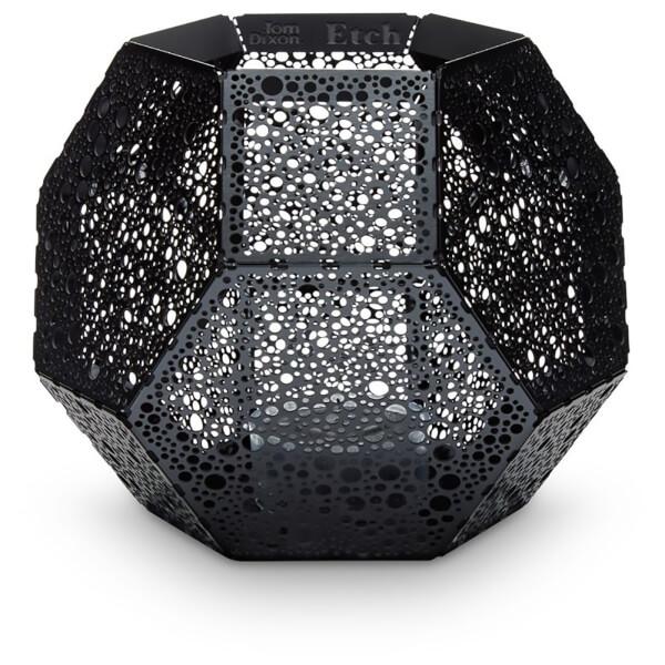 Tom Dixon Etch Tea Light Holder - Black Dot