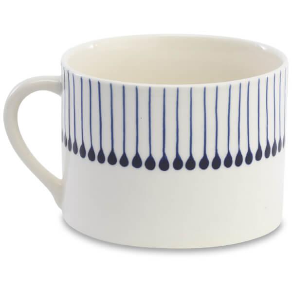 Nkuku Iba Ceramic Mug - Indigo
