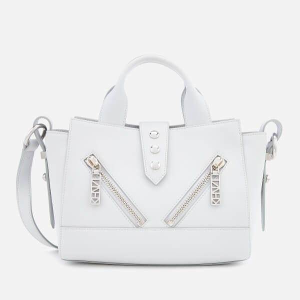 KENZO Women's Mini Kalifornia Tote Bag - Pale Grey