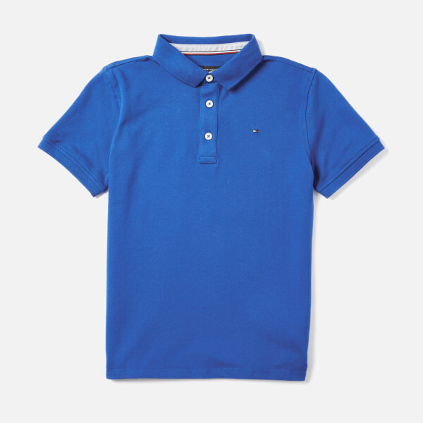 Tommy Hilfiger Boys  Essential Tommy Polo Shirt - Olympian Blue  Image 1 b97becea02