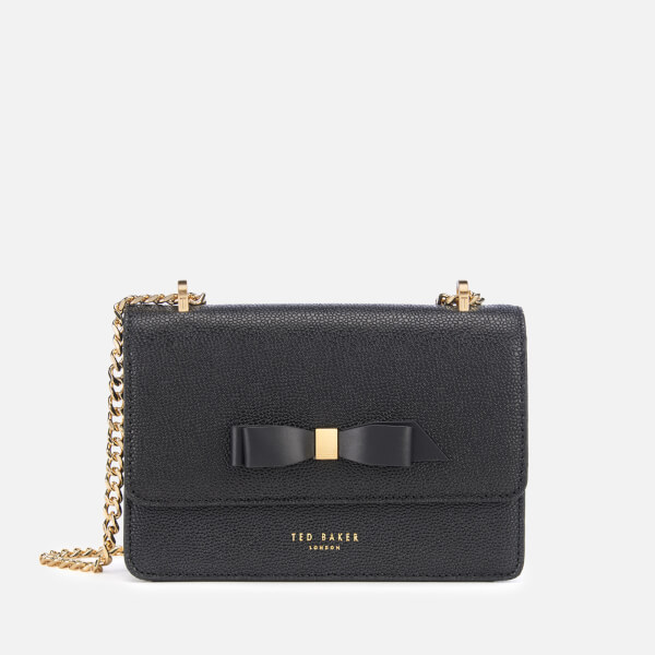 Ted Baker Women's Jayllaa Bow Detail Micro Cross Body Bag - Black
