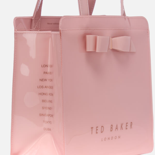 7d1e933dd Ted Baker Women S Arycon Bow Detail Small Icon Bag Light Pink