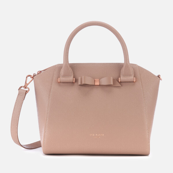 7cd570147 Ted Baker Women s Janne Bow Detail Zip Tote Bag - Taupe  Image 1