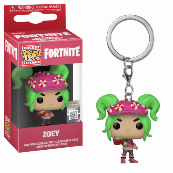 Pop! Keychain: Fornite S2 - Zoey