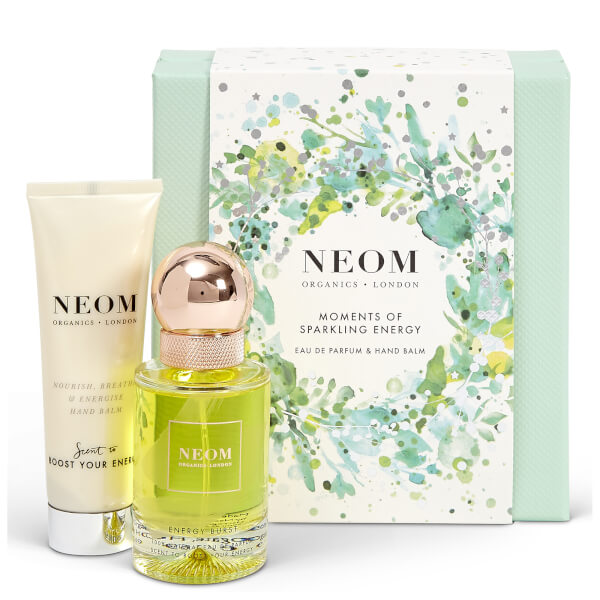NEOM Moments of Sparkling Energy Set (Worth £64.00)