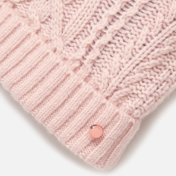 4e8c59490c793 Ted Baker Women s Raisa Knitted Pom Hat and Sock Set - Nude Pink  Image 4