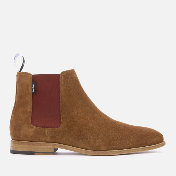 Ps Paul Smith Men S Gerald Suede Chelsea Boots Tan Free Uk