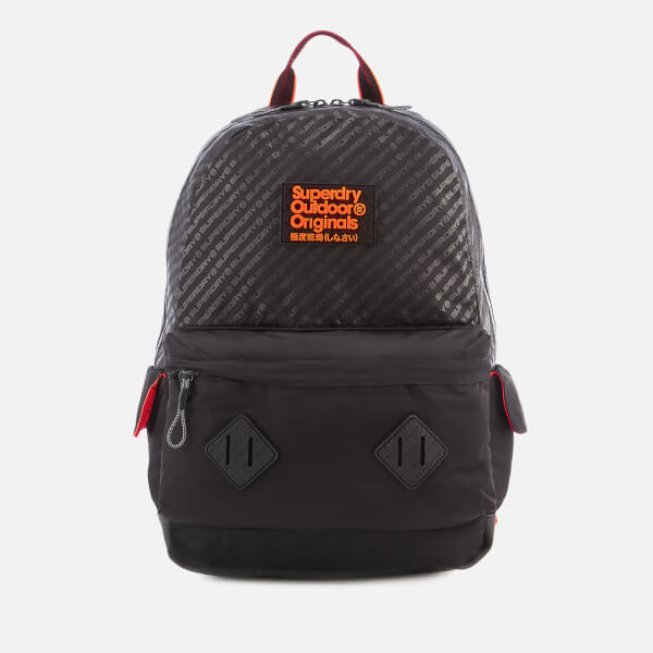 Superdry Men S Hamilton Montana Backpack Black Clothing