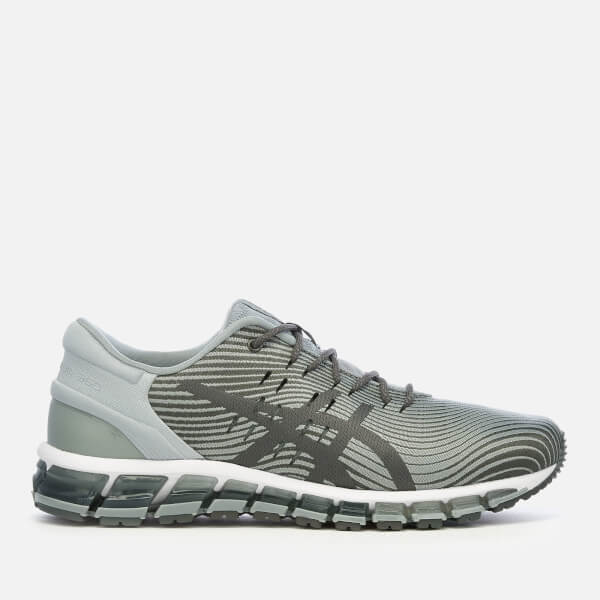 Asics Men's Lifestyle Gel Quantum 360 4 Trainers - Stone Grey/Dark Grey