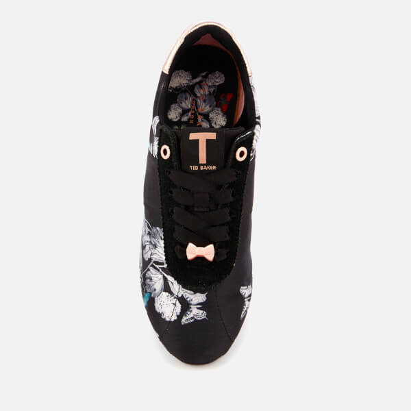 d6084305659a Ted Baker Women s Emileio Jacquard Runner Style Trainers - Black Narnia   Image 3