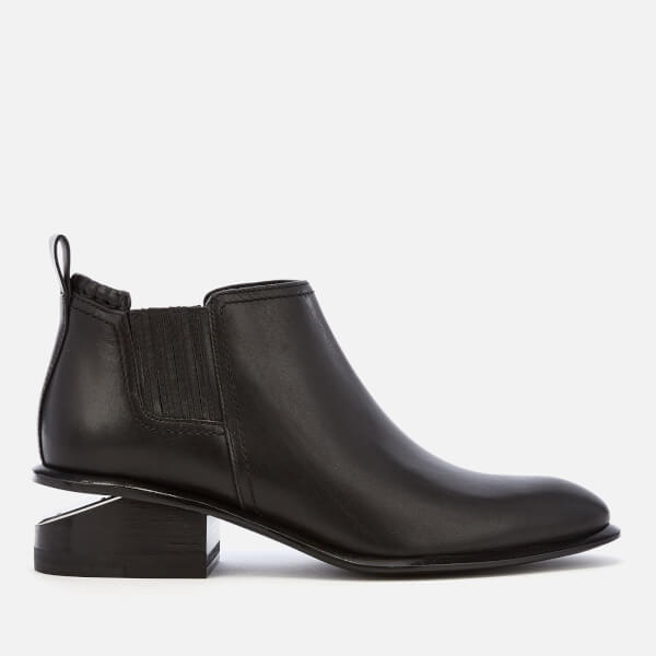 Alexander Wang Women's Kori Low Heeled Boots - Black