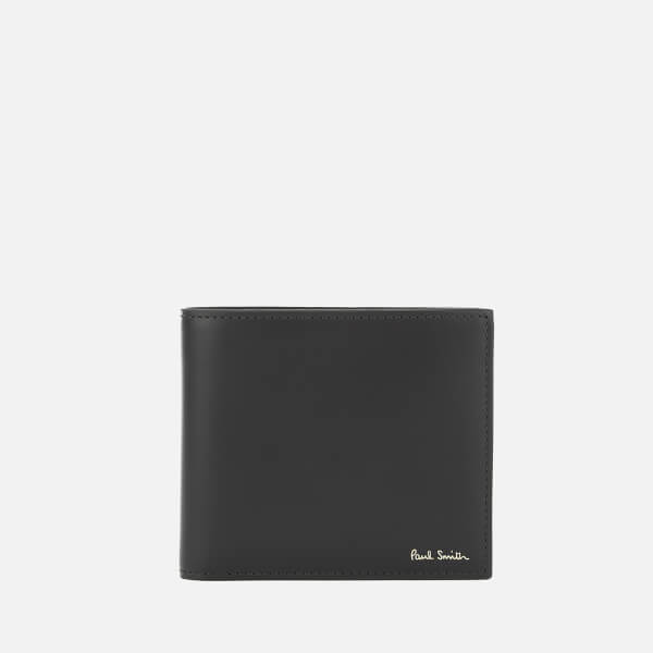 Paul Smith Men's Camera Print Billfold Wallet - Black