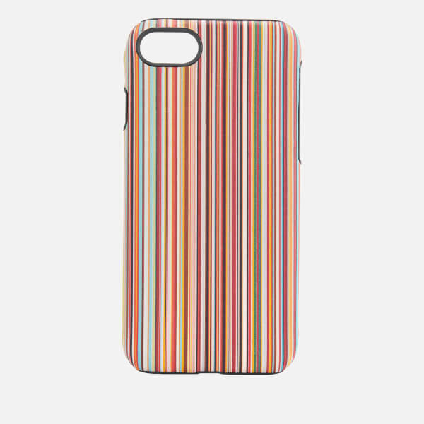 Paul Smith Men's Multi Stripe iPhone 8 Case - Multi