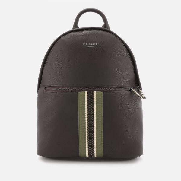 1017708fb5b49d Ted Baker Men s Standin Webbing Backpack - Chocolate Mens ...