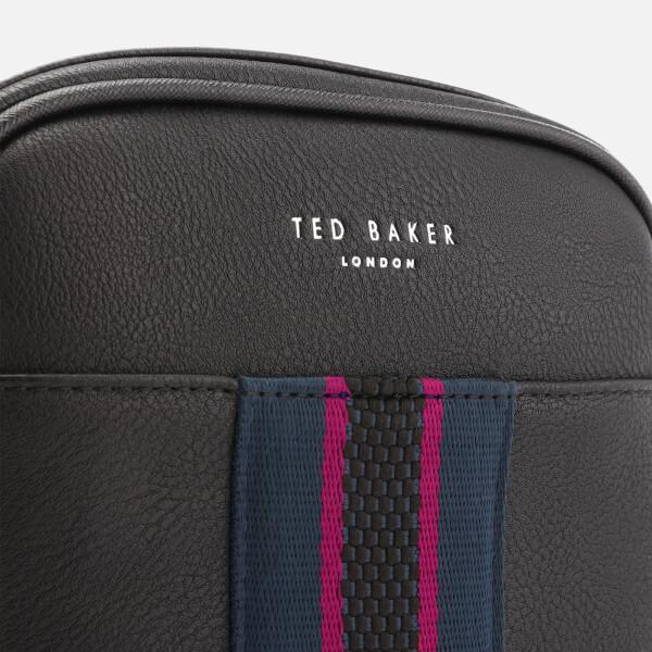 Ted Baker Men s Jets Webbing Flight Bag - Black  Image 4 7bcb037fe628f