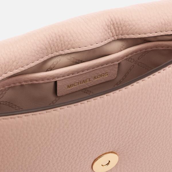 22e70f34d447b1 MICHAEL MICHAEL KORS Women's Half Dome Cross Body Bag - Soft Pink: Image 5