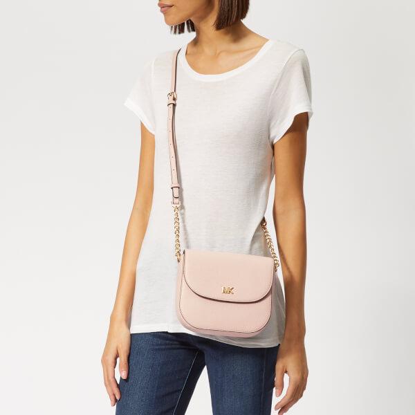 2d4574c4f7c4c8 MICHAEL MICHAEL KORS Women's Half Dome Cross Body Bag - Soft Pink: Image 3