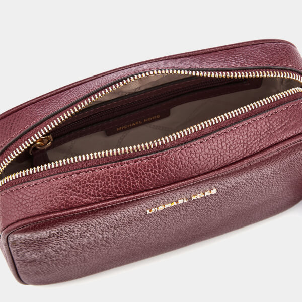 9fc5f3019965 MICHAEL MICHAEL KORS Women's Ginny Medium Camera Bag - Oxblood: Image 5