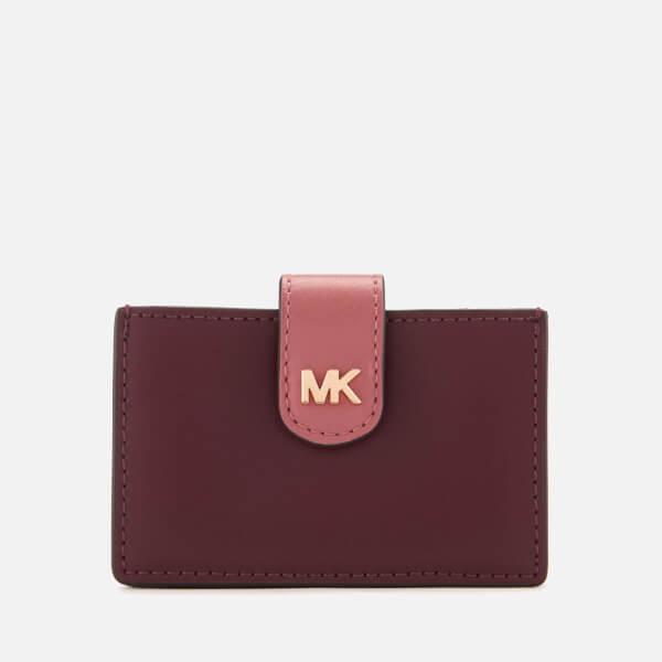 MICHAEL MICHAEL KORS Women's Money Pieces Card Case - Oxblood Multi