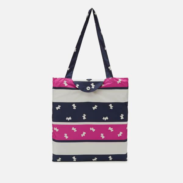 Radley Women's Colour Block Foldaway Tote Bag - Fuchsia