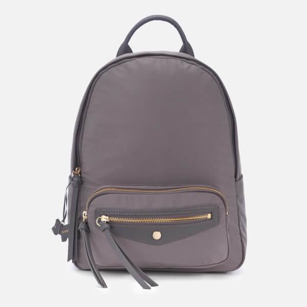 Radley Women's Merchant Hall Medium Backpack Zip Top Bag - Charcoal