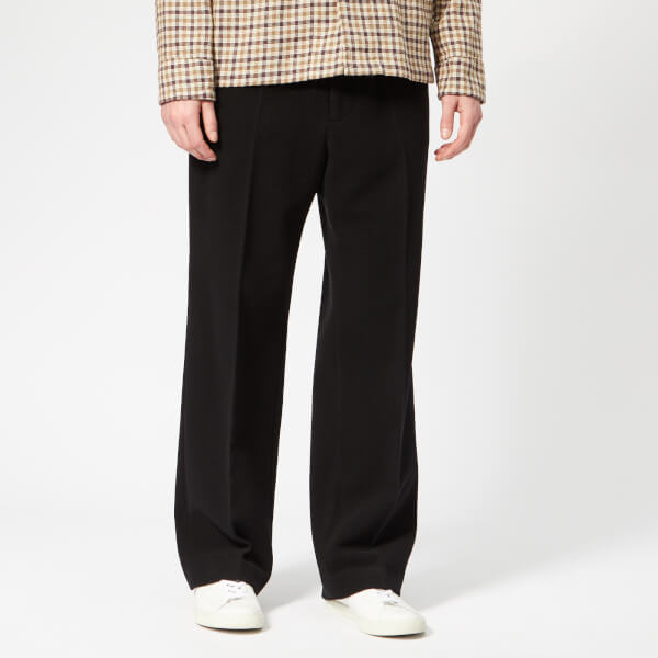 Our Legacy Men's Borrowed Chinos - Black Melton