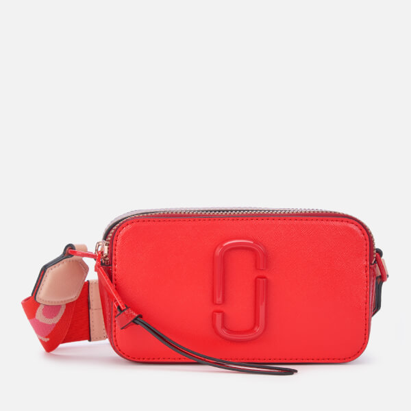 Marc Jacobs Women's Snapshot DTM Bag - Poppy Red Multi