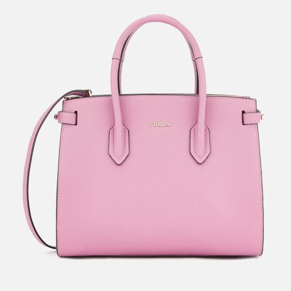 Furla Women's Pin Small Tote Bag - Pink