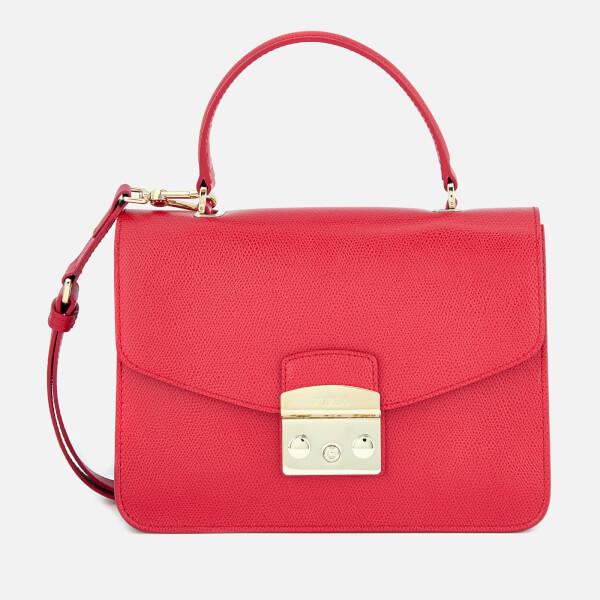 Furla Women's Metropolis Small Top Handle Bag - Ruby