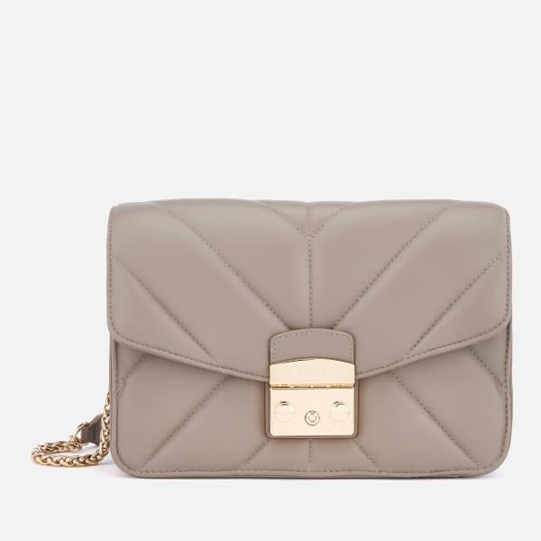 Furla Women's Metropolis Small Shoulder Bag - Cream
