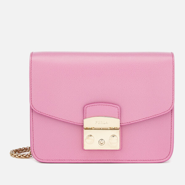 Furla Women's Metropolis Small Cross Body Bag - Pink