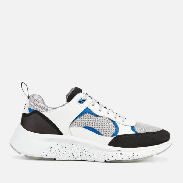 PS Paul Smith Men's Ajax Runner Style Trainers - Off White