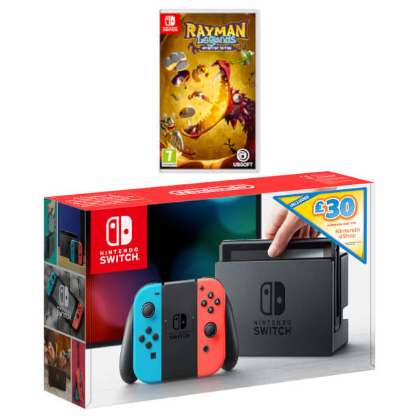 Nintendo Switch Rayman Legends Ultimate Bundle + £30 eShop Credit