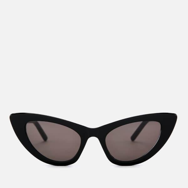 Saint Laurent Women's Cat-Eye Frame Sunglasses - Black