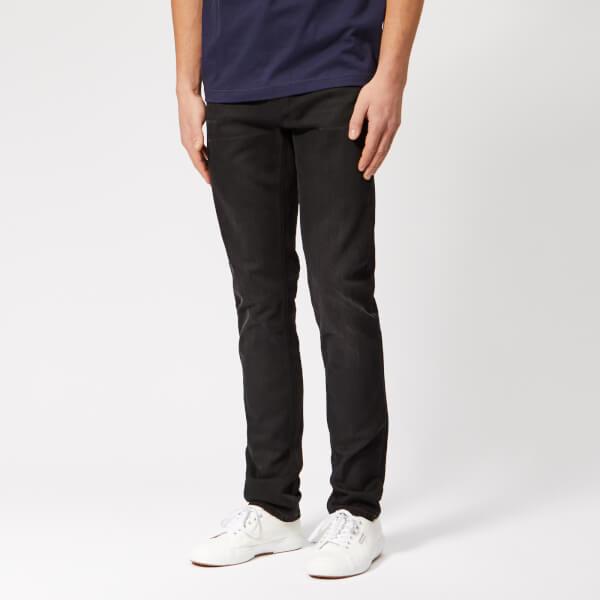 Nudie Jeans Men's Lean Dean Tapered Jeans - Authentic Black