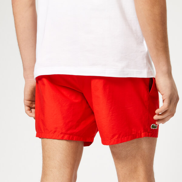 f7fa73670a Lacoste Men's Classic Swim Shorts - Red: Image 2